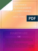 Trabajo 15-Elementos o componentes básicos de una computadora