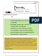 Boletín N°2 Grupo EcoTerrón -JULIO 2009