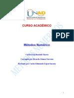 Modulo Metodos Numericos