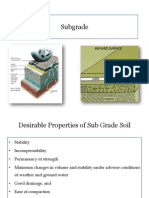 sub grade properties
