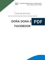 Caso Doña Dona en Facebook