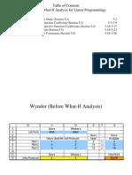 第五章 线性规划的What-If分析