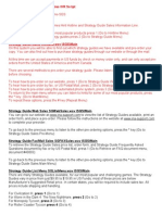 Hintline & Strategy Guide Sales IVR