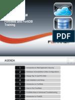 LATAM MX Fortiweb FortiDB Training-V1.1