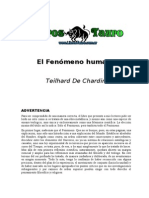 Teilhard de Chardin, Pierre - El Fenomeno Humano