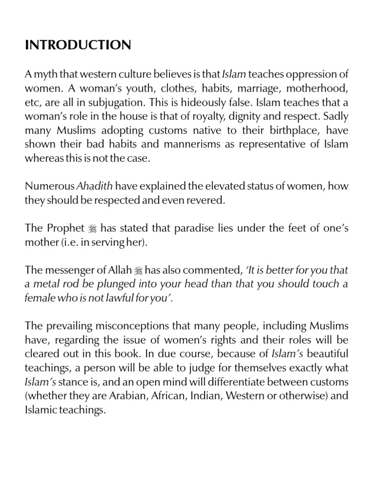 Marriage - A Form of Ibadah   Hadith   Marriage
