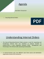Internal Sales Order
