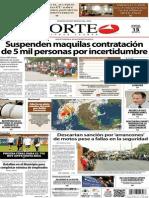 Periódico Norte de Ciudad Juárez 15 de Octubre de 2013