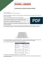 Xii Exame - Cronograma Cers (3 Meses)