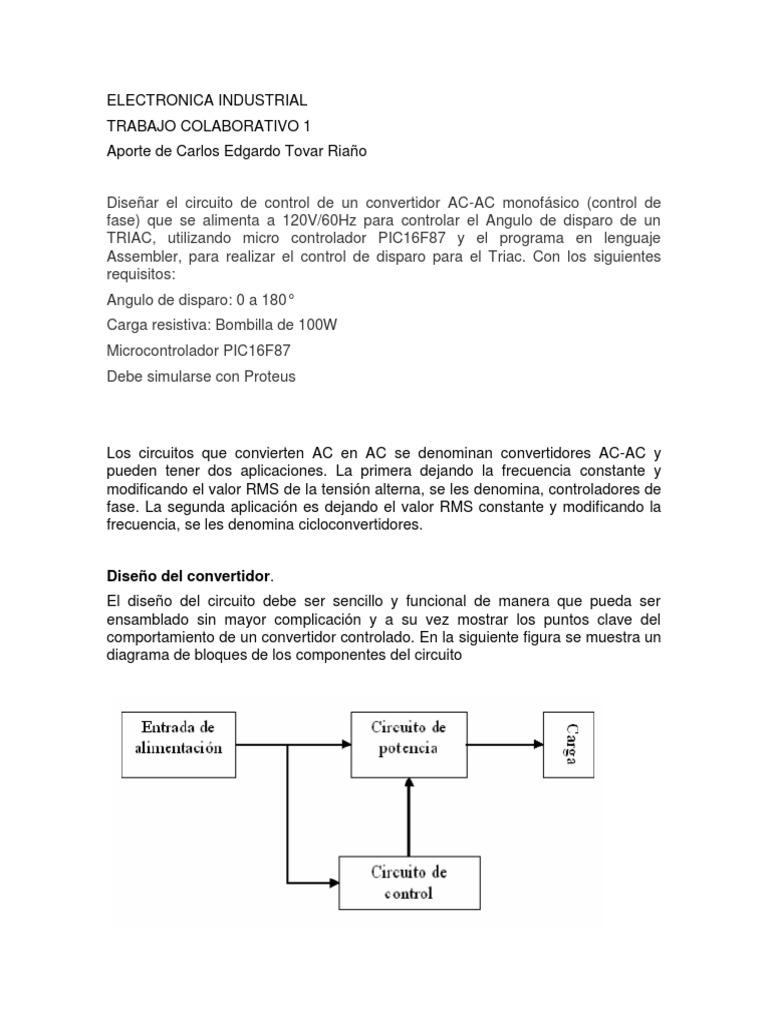 Circuito De Electronica : Proyecto de electrónica circuito básico de alarma youtube