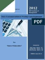 Financial Management Project