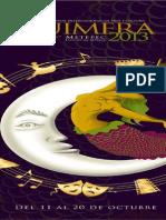 Programa Quimera Metepec 2013