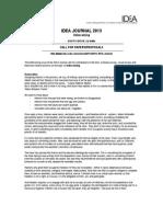 2013 IDEA Journal_call
