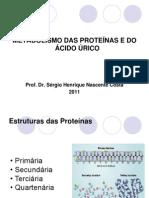 Aula Metabolismo de Proteínas e Ác Úrico
