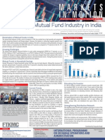Vol 4 No. 21 August 05, 2013 - Trends in the Mutual Fund Industry in India