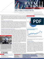 Vol 4 No. 20 July 29, 2013 - Passive Commodity Index Investments