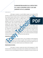 Triaxial Accelerometer-Based Fall Detection Method Using a Self-Constructing Cascade-Adaboost-Svm Classifier