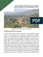 Breve Historia de la Iglesia Presbiteriana en San Lorenzo Texmelucan, Oaxaca. Ladislao Domínguez Clara.