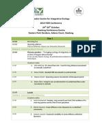 CIE-HDR Conf Program