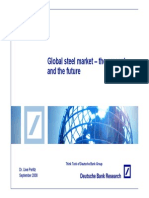 Presentation +Global+Steel+Market+ +the+Present+and+the+Future