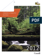 The State of Canadian Forests (2012)