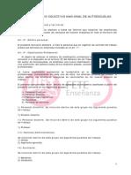 XXII Convenio Colectivo Nacional de Autoescuelas