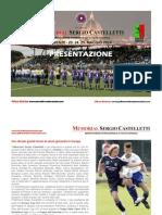 Presentazione Memorial Sergio Castelletti - Europe Cup U12