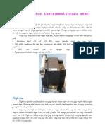 Transformator Instrument