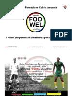 Presentazione metodo FOOWEL COACHING