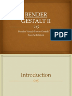 Bender Gestalt Visual Motor Test