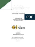 Specimen Project Report-1(R.K)