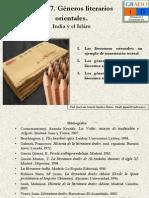 Tema 7. G Neros Literarios Rabes