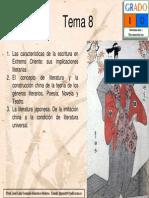 Tema 8. Literatura China y Japonesa