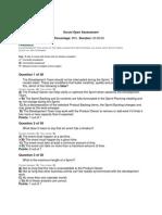 Scrum Open Assessment - Scrum.org