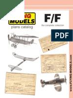 Flying Models Catalog
