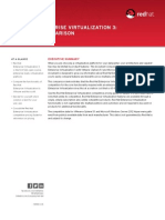Red Hat Enterprise Virtualization 3 a Feature Comparison