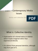 exam  contemporary media issues