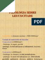 fiziologia seriei leucocitare