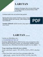 KULIAH 2. LARUTAN & KONSENTRASI