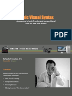 Uni Experience - Visual Syntax (Part 01)