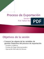 Sesion IV Proceso de Exportación julio 2008