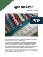 Magic Blanket Pattern