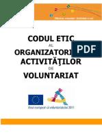 Codul Etic Al Organizatorilor de Vol