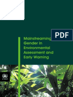 UNEP Mainstreaming Gender in Environmental Assessment and Early Warning
