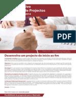 MBA Executivo em Gestão de Projectos - 2014