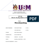 Microteaching - LESSON PLAN