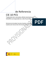 CIE 10 PCS M Referencia 2013