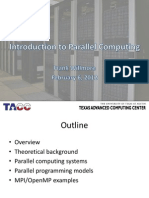 Intro Parallel Computing Feb 2012 Willmore