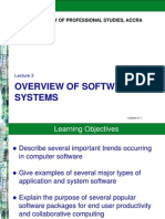 Overview of Software System