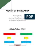 Process of Translation
